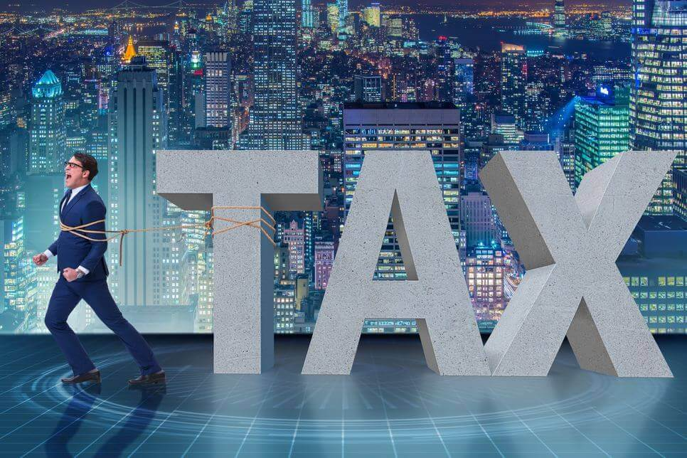 man looking to claim his income tax arrears